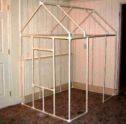pvc playhouse plan