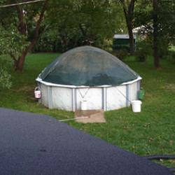 Pool cover by Stephen Smith. See more pictures and info. : diy shade tent - memphite.com