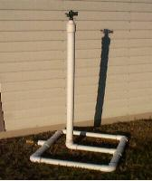 PVC Plant Stand Plans http://cranberrycompost.wordpress.com/