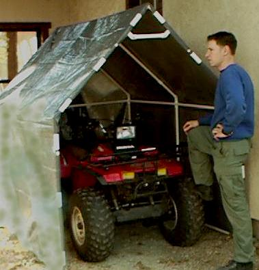 No where to park car forums and automotive chat for Atv shed plans