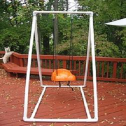 How To Build A Frame For A Toddler Swing