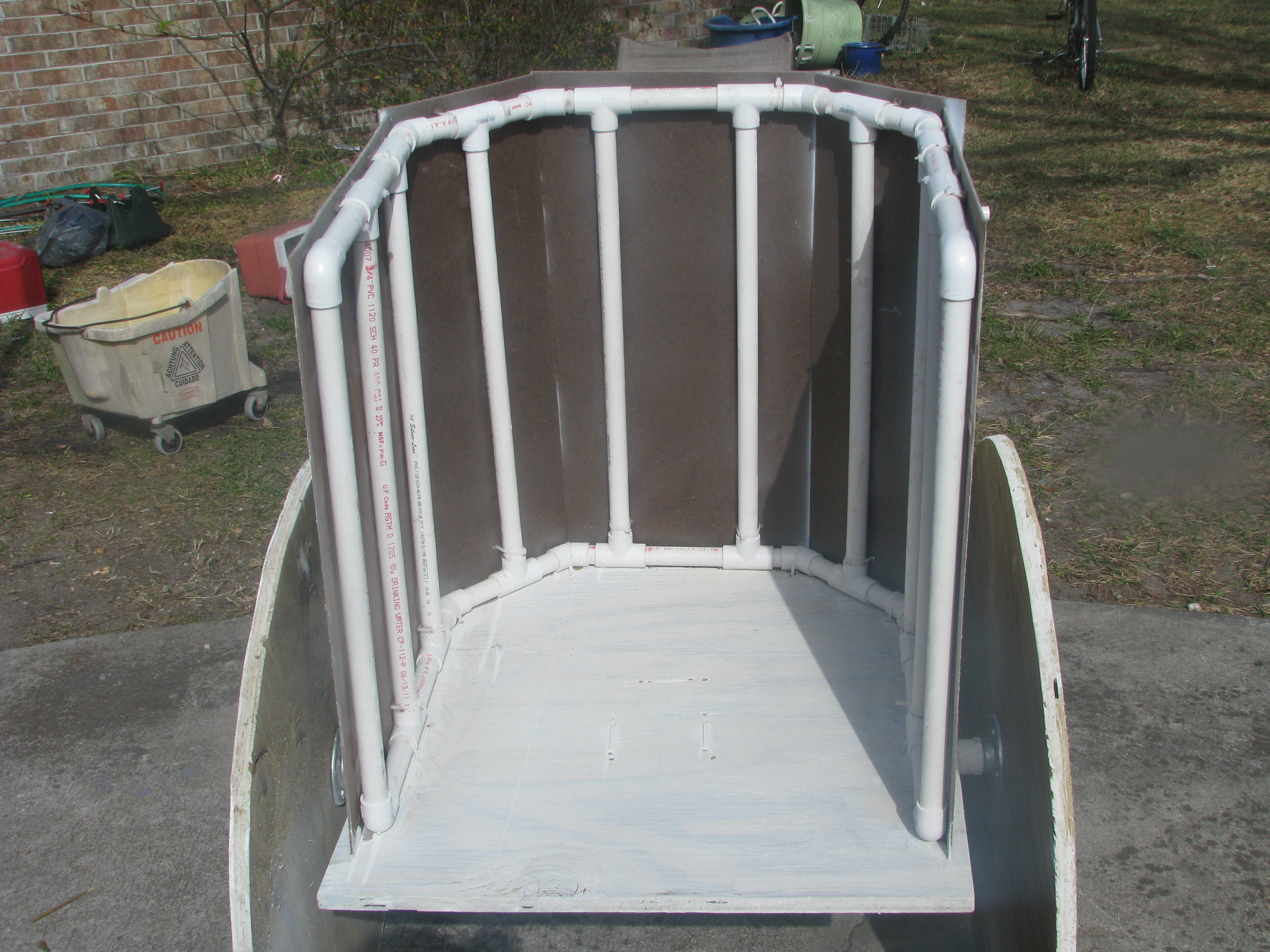 Pictures Of A Quot Build It Yourself Quot Pvc Chariot