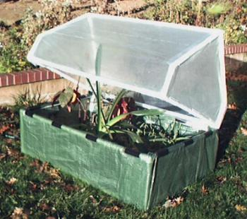 FREE Plans for a PVC pipe COLD FRAME.