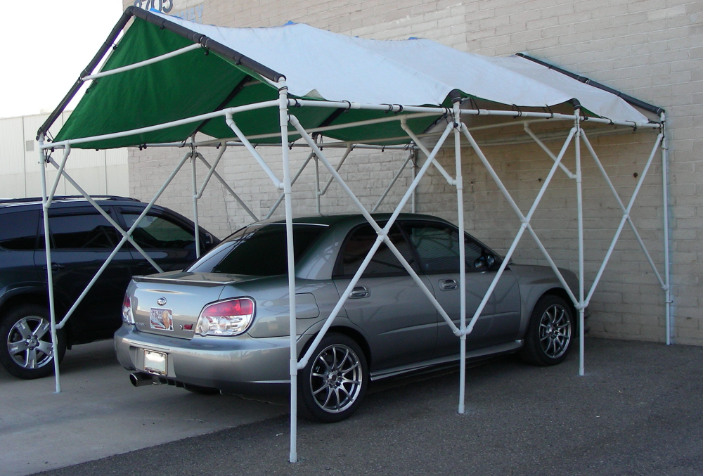build a pvc car canopy
