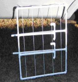 Portabel Pvc Laundry Rack