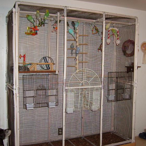 image gallery homemade bird cage plans