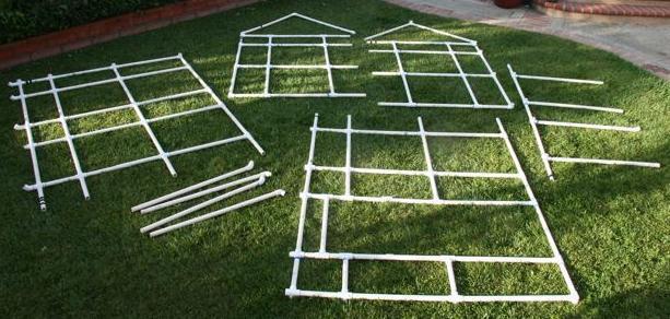 pvc playhouse plans